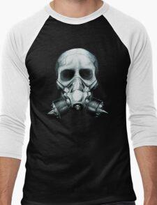 Gas mask Skull Men's Baseball ¾ T-Shirt