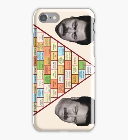 Swanson Pyramid of Greatness iPhone Case/Skin