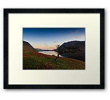Sunrise Crummock Water, Cumbria. UK Framed Print