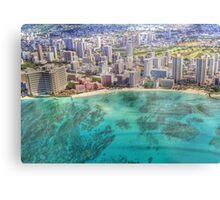 Waikiki by Sky Metal Print