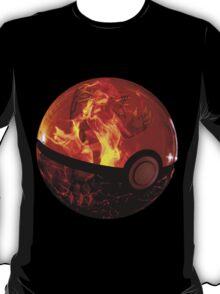 Groudon | Pokeball T-Shirt