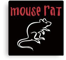 Mouse Rat- Parks and Rec Canvas Print