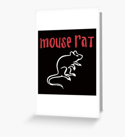 Mouse Rat- Parks and Rec Greeting Card