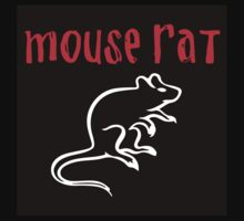 Mouse Rat- Parks and Rec by caitlinkrose
