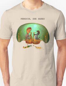 PENGUIN, SHE SAXED T-Shirt