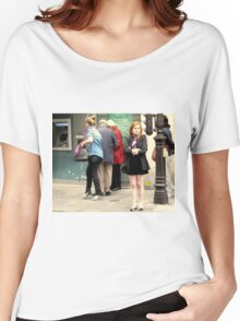 """""""Merde, My Legs Are Freezing!"""" Women's Relaxed Fit T-Shirt"""