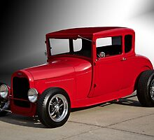 1928 Ford 'Little Red' Coupe IIIa by DaveKoontz
