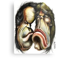 The Rolling Stones caricature Metal Print
