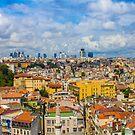 Areal view over delightful &vibrant Istanbul, TURKEY by Atanas Bozhikov NASKO