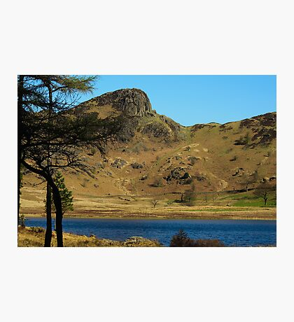 Blea Tarn towards Langdale Pikes Photographic Print
