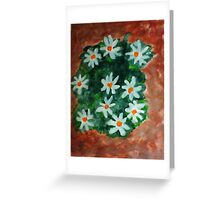 More Antique Floral, watercolor Greeting Card