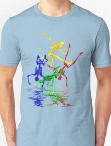 Skeletons break-dancing T-Shirt