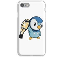Piplup the WWE Champion iPhone Case/Skin