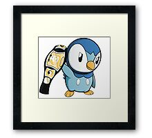 Piplup the WWE Champion Framed Print