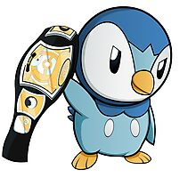 Piplup the WWE Champion Photographic Print