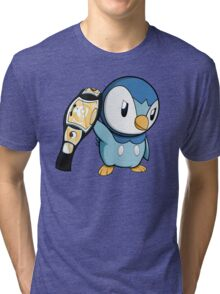 Piplup the WWE Champion Tri-blend T-Shirt