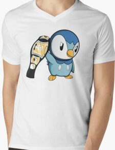 Piplup the WWE Champion Mens V-Neck T-Shirt