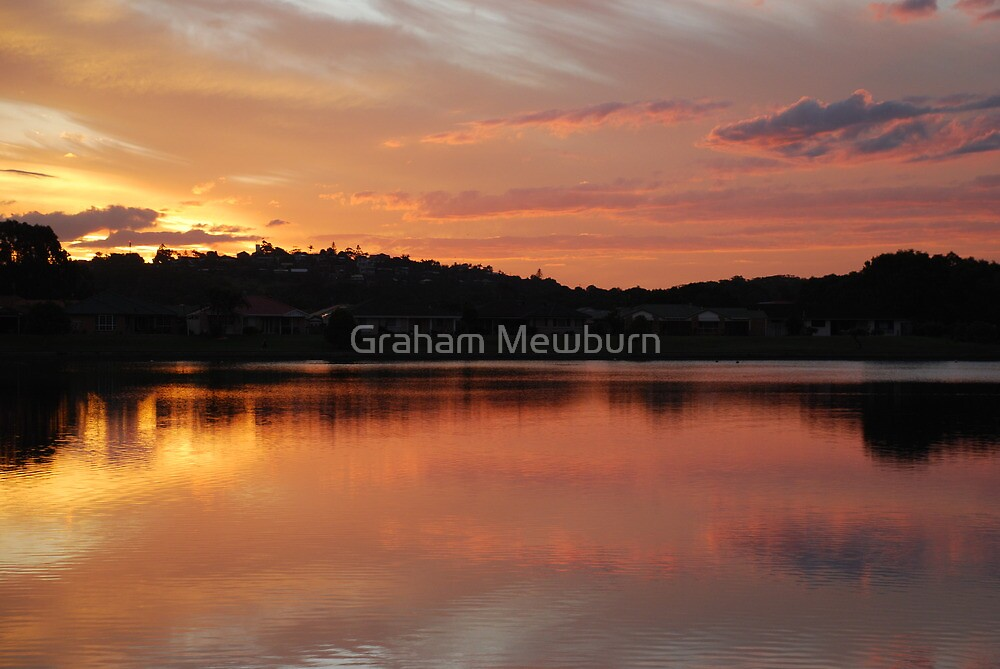 Golden Pink by Graham Mewburn