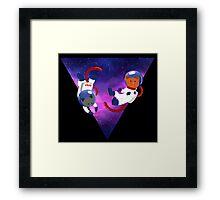 Astrokitties Framed Print