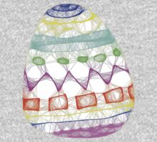 Easter Egg T One Piece - Short Sleeve
