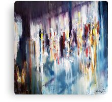 Displacement of light and colors  Canvas Print