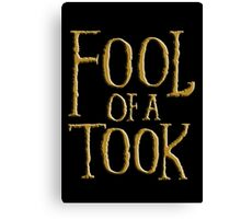 Fool of a Took Canvas Print