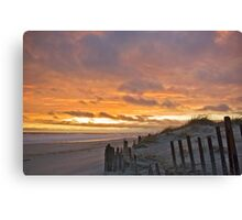 Storm Tossed Sky Canvas Print