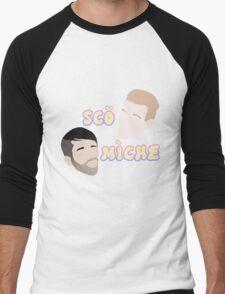 Scott and Mitch Men's Baseball ¾ T-Shirt