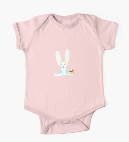 Easter Bunny T One Piece - Short Sleeve