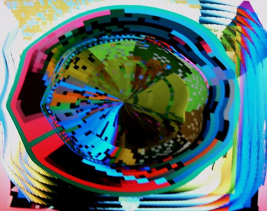 Psychedelic visual distortion by George Hunter