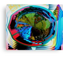 Psychedelic visual distortion Canvas Print