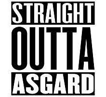 Straight Outta Asgard Photographic Print