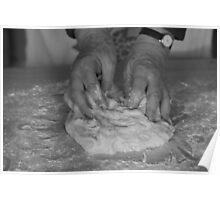 baking a cake Poster