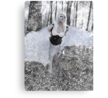 The Blizzard Dance Canvas Print