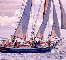 Defiance Under Sail by JoeGeraci