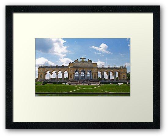 The Gloriette at Schönbrunn Palace. by Lee d'Entremont