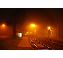 Winter's Foggy Embrace Photographic Print