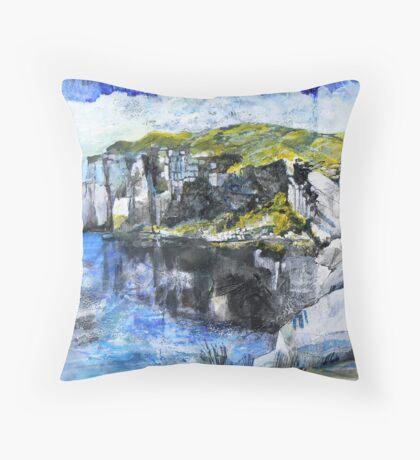 Foggingtor Quarry Throw Pillow