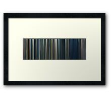 Moviebarcode: The Lord of the Rings: The Two Towers (2002) Framed Print