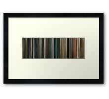Moviebarcode: The Lord of the Rings: The Return of the King (2003) Framed Print