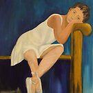 Resting Ballerina by Susan Brown