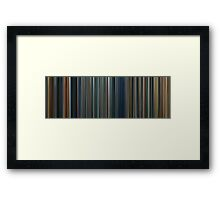 Moviebarcode: The Lord of the Rings Trilogy (2001-2003) Framed Print