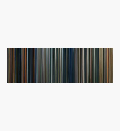 Moviebarcode: The Lord of the Rings Trilogy (2001-2003) Photographic Print