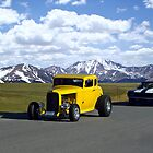 1931 Ford Hot Rod & Chevy Camaro by TeeMack