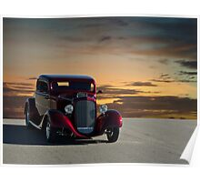 1934 Ford Custom Coupe Poster