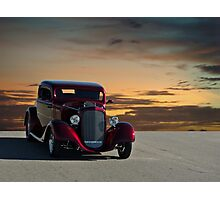 1934 Ford Custom Coupe Photographic Print