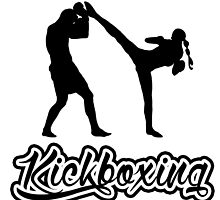 Kickboxing Spinning Back Kick Black  by yin888