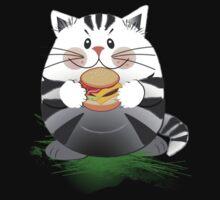 Hamburger Cat by walstraasart