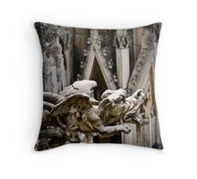 Do Gargoyles Dream of Stone Sheep? Throw Pillow