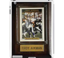 TROY AIKMAN AMERICAN QUARTERBACK iPad Case/Skin